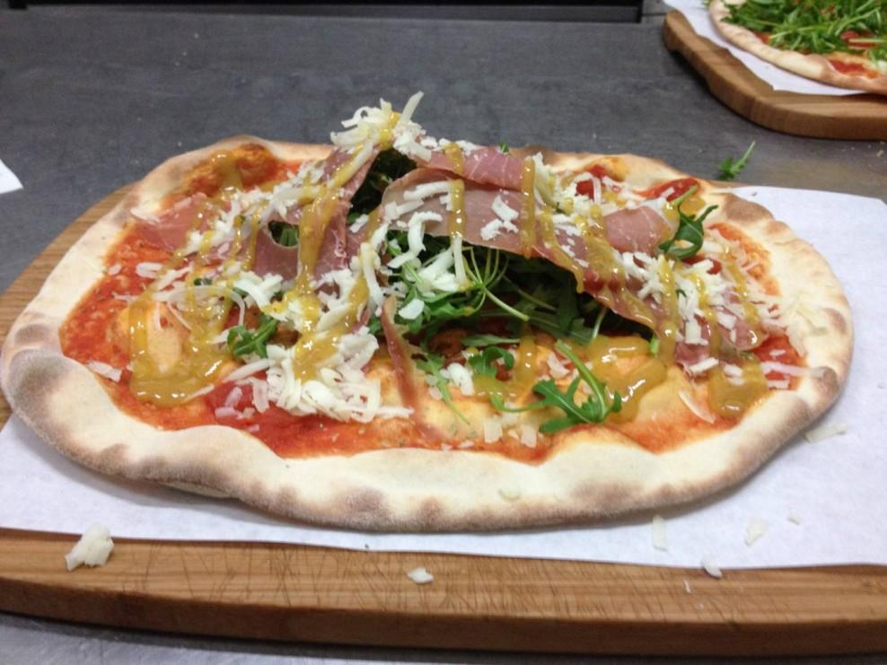 Pizza Mostarda di Fichi